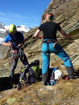 Felskurs Bergführer Zermatt
