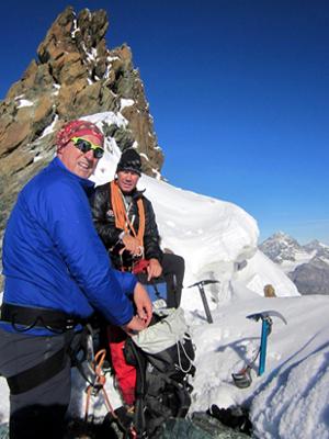 Castor-Pollux-Breithorn Bergführer Zermatt
