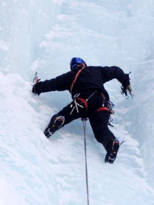 Eisklettern Bergführer Zermatt