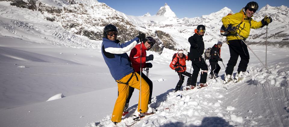 Heliskiing Zermatt Bergführer